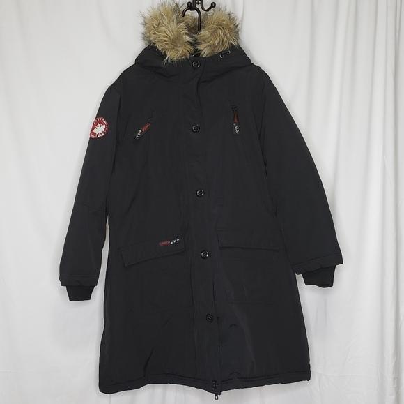 Canada Weathergear Black Cold Weather Jacket 3X